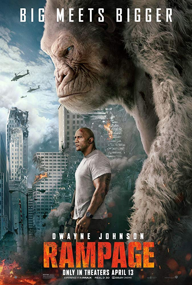 Rampage  (2018) ใหญ่ชนยักษ์
