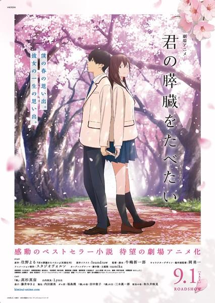 Let Me Eat Your Pancreas (Kimi no suizô wo tabetai) (2018) ตับอ่อนเธอนั้น ขอฉันเถอะนะ