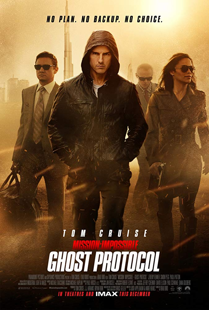 Mission Impossible 4 (2011) Ghost Protocol ปฏิบัติการไร้เงา